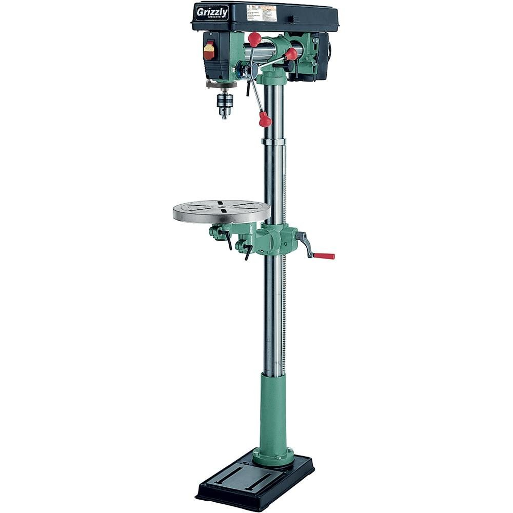 Grizzly G7946 5 Speed Floor Radial Drill Press