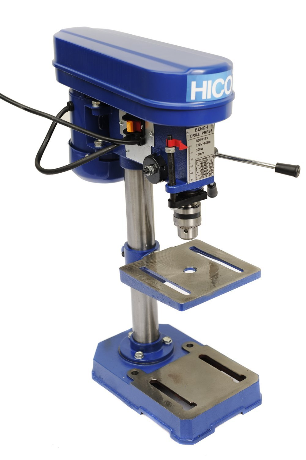 HICO-DP4113 8-Inch Bench Top Drill Press 5 Speed