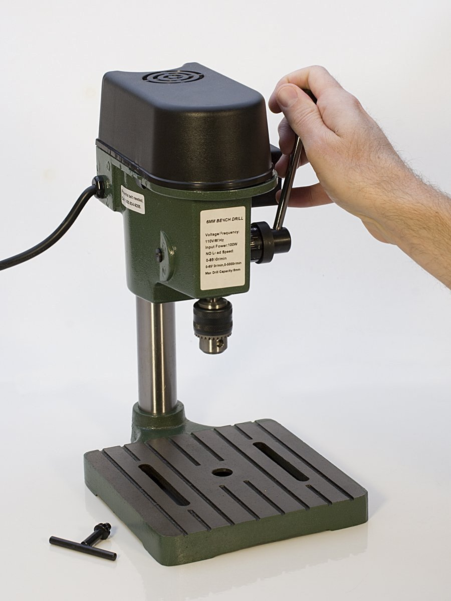TruePower 01-0822 Precision Mini Drill Press with 3
