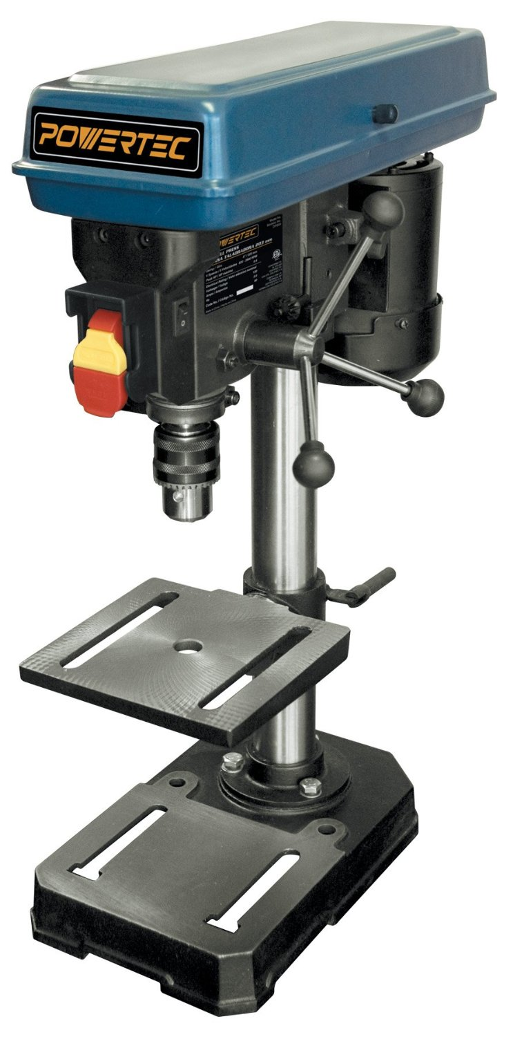 POWERTEC DP801 Baby Drill Press 5-Speed