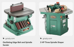 similar sander from grizzly