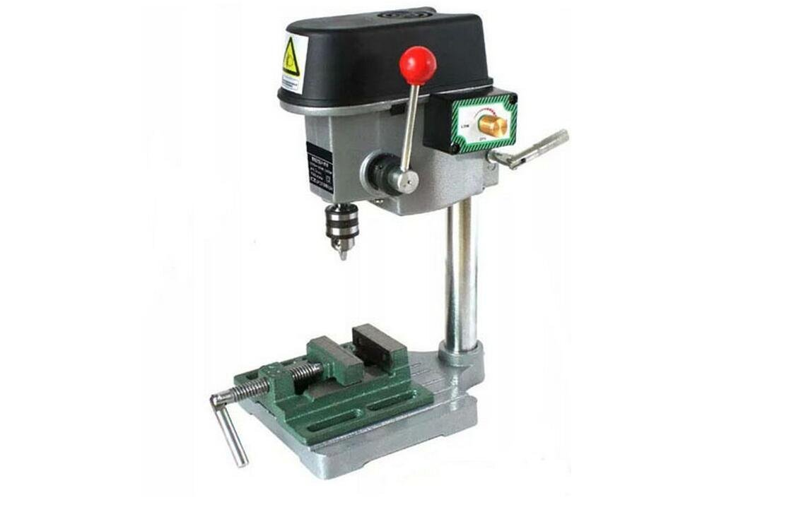 Mini Table Electric Drill Press with Vise 220v