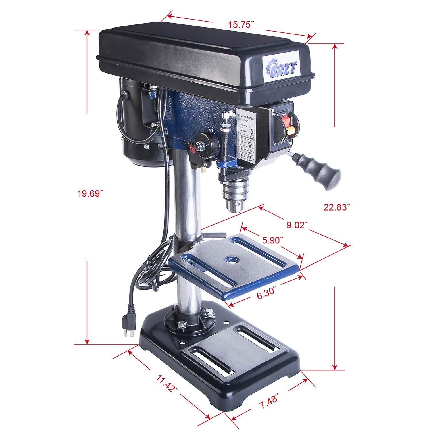 Ainfox 120V drill press