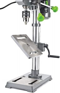 genesis drill press with worklight