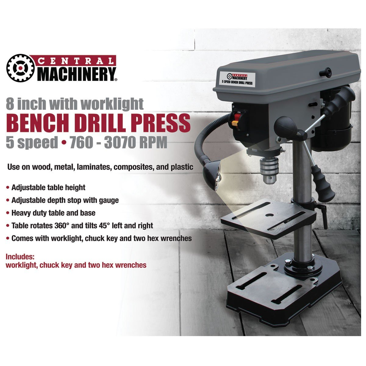 Bench-Mount-Drill-Press-8-inch